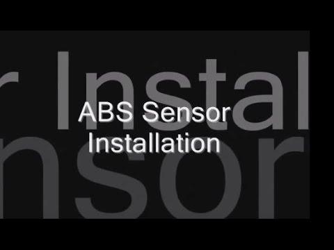 dorman abs wheel speed sensors & wire harnesses installation tutorial  how-to anti-lock brake sensor