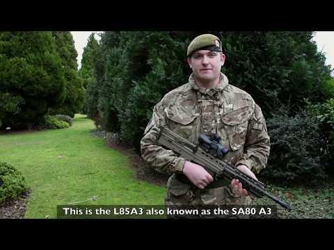 SA80 A3 | Weapons & Equipment | British Army
