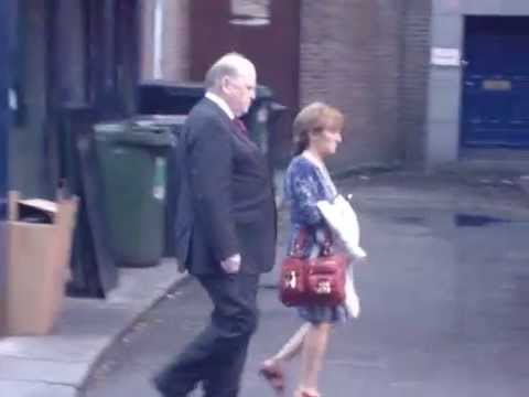 Michael Noonan, opposite Doheny & Nesbitts Pub, 3July 2014.