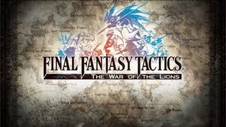 Final Fantasy Tactics: The War of the Lions for iPad - Intro - iPad 2 - HD Gameplay Trailer