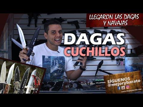 Navaja Dagas Cuchillos navajas de buena calidad Bear Grylls Colombia Ecuador youtubers cali