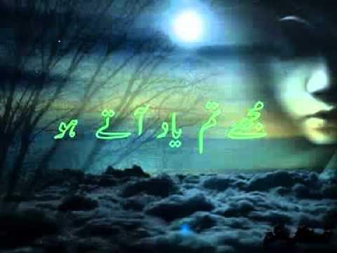 Un Ka Hi Tasawar hai   Attaullah Khan     YouTube
