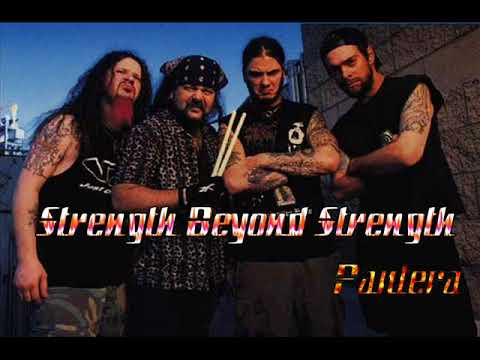 Pantera - Strength beyond strength  (instrumental)