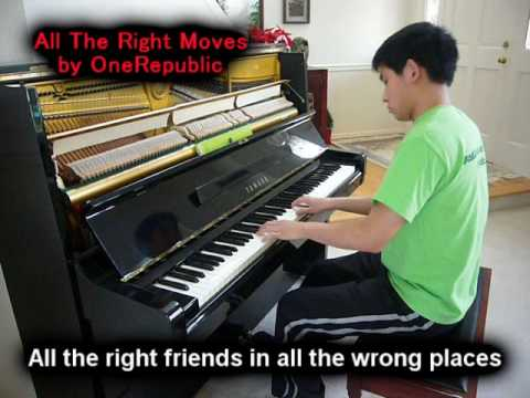 OneRepublic - All The Right Moves (Piano Cover)
