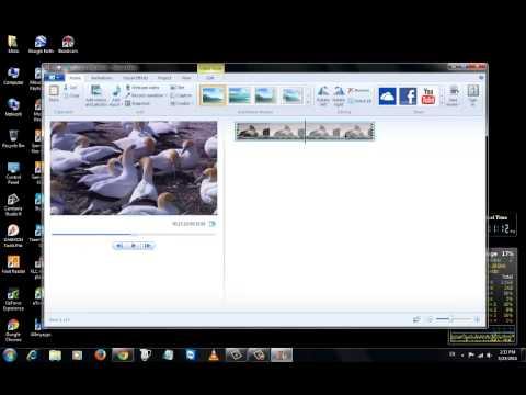 شرح طريقة حفظ الفيديوهات فى برنامج الموفى ميكر | الحلقة 123