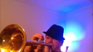 Double Pedal C to Triple C- Kurt Plays 7 C's up to Triple High C! Trumpet Teacher Demo