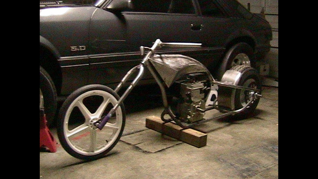 mini chopper build part 3 youtube - Mini Chopper Frame
