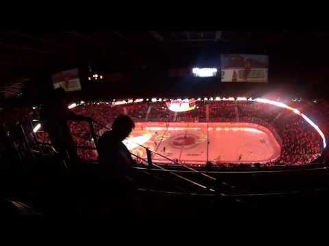 Hockey em Calgary - Scotiabank Saddledome