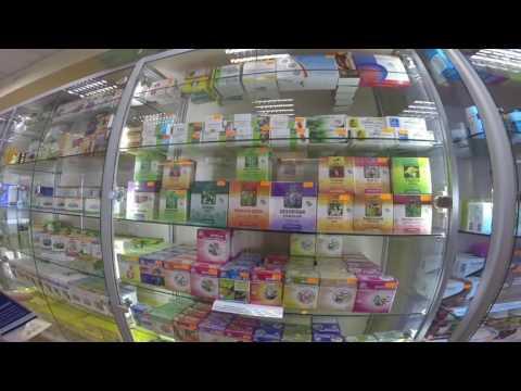 Ep.6 (Eng.) Ukrainian pharmacy shop. Poltava - short episode