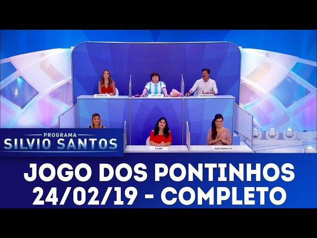 Jogo dos Pontinhos - Completo | Programa Silvio Santos (24/02/19)