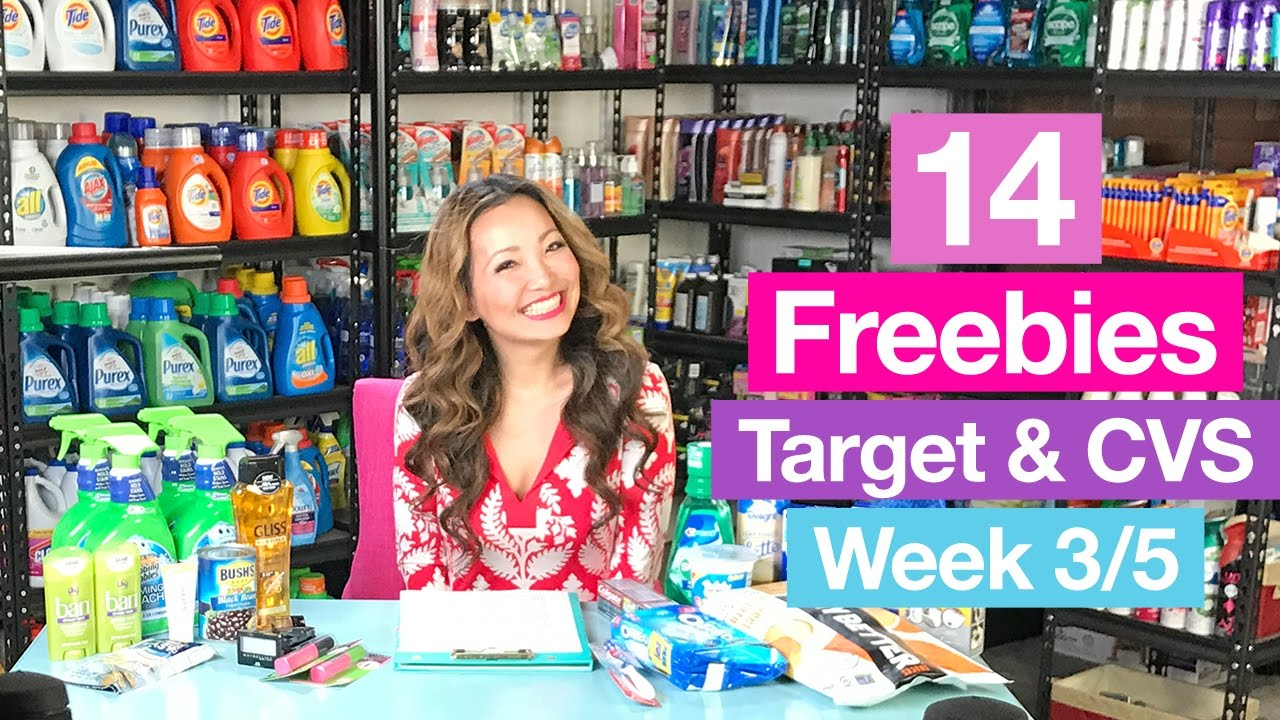317942d3e5a VIDEO: Target & CVS Couponing Deals (Week 3/5-3/11)