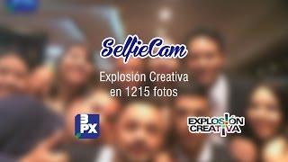 selfiecam 3px en la explosioncreativa 2014