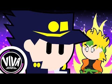 JoJo's Bizarre Adventure Stardust Crusaders But Really Really Fast - Animation