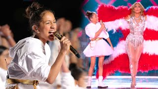Watch J.Lo's Daughter Emme SLAY Her Super Bowl Halftime Cameo!