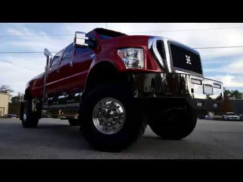 F650 Supertruck Six Door 4x4 Pickup Youtube