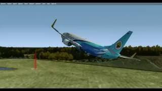 Prepar 3D Прцедура запуска двигателя Boeing 737-800