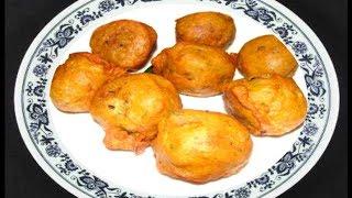 Bateta vada or Aaloo Bonda - Spicy Potato Balls by Bhavna - Perfect Potluck Recipe
