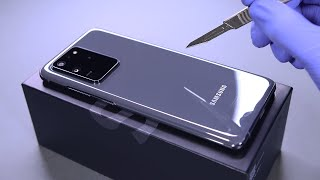 Samsung Galaxy S20 Ultra Unboxing - ASMR