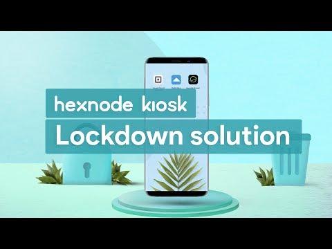 Hexnode Kiosk Lockdown solution