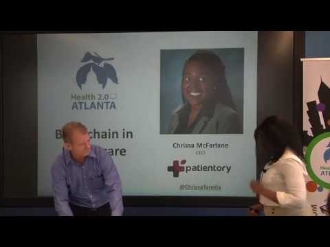 Blockchain in Healthcare, Chrissa McFarlane, CEO, Patientory, Part ...