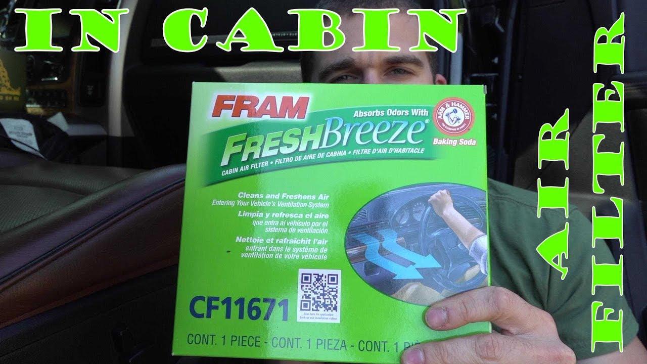 hight resolution of in cabin air filter install ram 2500