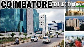 COIMBATORE - Textile City Of India | Plenty Facts | Coimbatore City - Tamilnadu India | Coimbatore