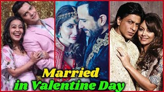 10 Bollywood Stars who Got Married on Valentine's Day