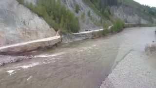 Наводнение на Алтае (видео Росавтодора)(, 2014-06-09T10:41:45.000Z)