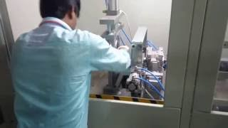 Tube end cutter machine