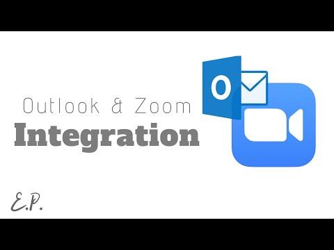 How to Schedule Zoom Meetings Through Outlook Calendar