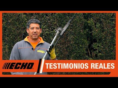 Cortasetos ECHO PAS-265ES - Testimonio jardinero profesional