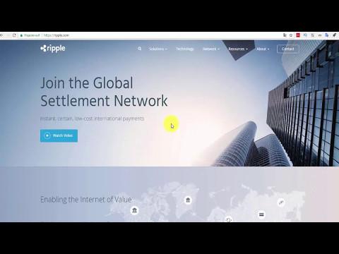 Крипт валюта Ripple обзор и регистрация  кошелька