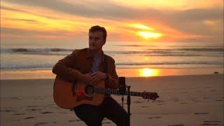 Adrift - Jack Johnson (Acoustic cover during sunset)