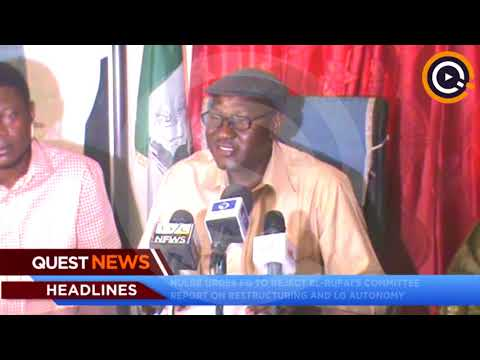 NULGE urges FG to reject El Rufai's committee report on restructuring and LG autonomy