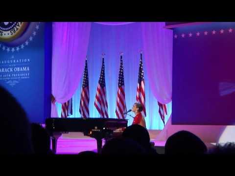 Alicia Keys Obama's on fire