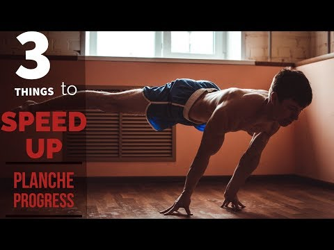 3 THINGS TO SPEED UP PLANCHE PROGRESS. Why progressions is SH*T?