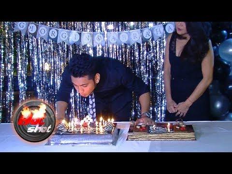 Giorgino Abraham Rayakan Ultah Bersama Penggemar - Hot Shot 02 Desember 2017