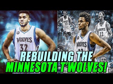 NBA 2K17 MyLEAGUE: Rebuilding the Minnesota Timberwolves!