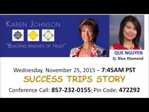 Q. Blue Diamond Que Nguyen on Team Elite Karen Johnson's Conference Call (November 25, 2015)