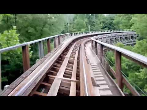 Top 10 Wooden Roller Coasters In The World 2017