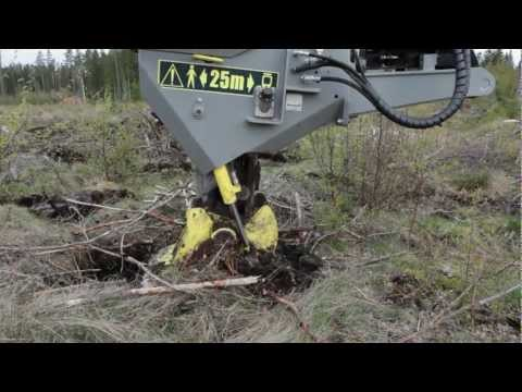 Bracke P11.a - Planting machine