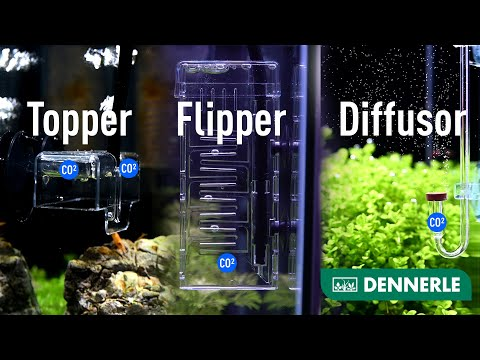 CO² Zugabegeräte für eine erfolgreiche Düngung | Flipper, Diffusor und co. | DENNERLE