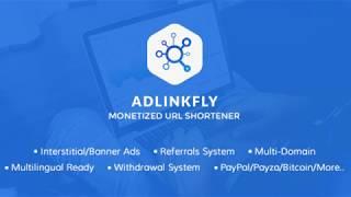 AdLinkFly - Acortador de URLs GRATIS! [TUTORIAL]