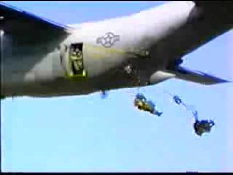 Airborne Jump, music by Van Halen - Jump