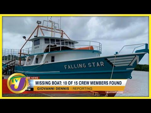 Missing Jamaican Fishing Boat   10 of 15 Honduran Crew Members Found   TVJ News - July 15 2021