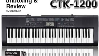 CASIO CTK 1200 (Unboxing & Review) Español