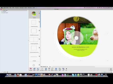 CD/DVD template printing