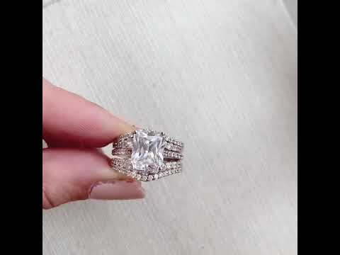 Diamond Engagement Ring Cradle