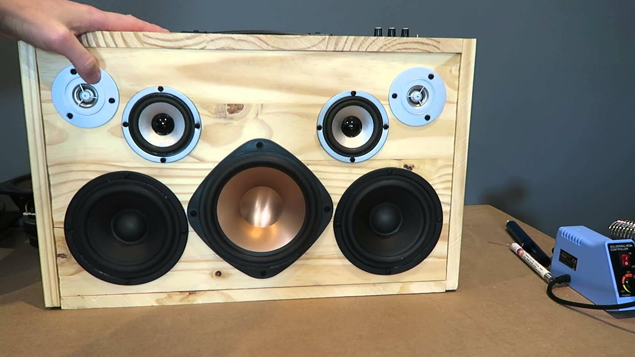 How To Make A Powered Subwoofer At Home