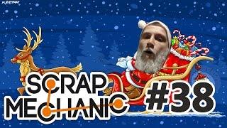 Scrap Mechanic Po Polsku #38 - Idą Święta! /Plaga    Diabeuu